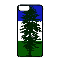 Flag Of Cascadia Apple Iphone 7 Plus Seamless Case (black)