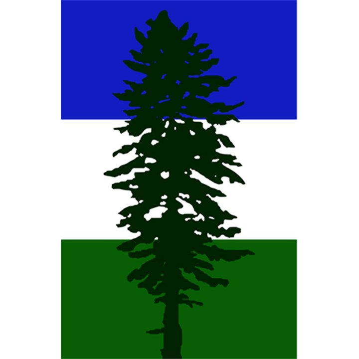 Flag of Cascadia 5.5  x 8.5  Notebooks