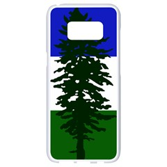 Flag Of Cascadia Samsung Galaxy S8 White Seamless Case by abbeyz71