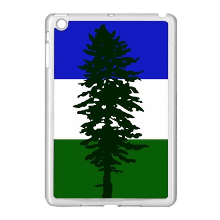 Flag of Cascadia Apple iPad Mini Case (White)