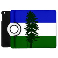 Flag Of Cascadia Apple Ipad Mini Flip 360 Case by abbeyz71