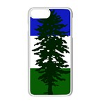 Flag of Cascadia Apple iPhone 8 Plus Seamless Case (White) Front