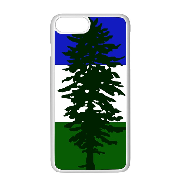 Flag of Cascadia Apple iPhone 8 Plus Seamless Case (White)