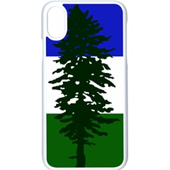 Flag Of Cascadia Apple Iphone X Seamless Case (white) by abbeyz71