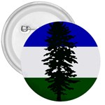 Flag of Cascadia 3  Buttons Front