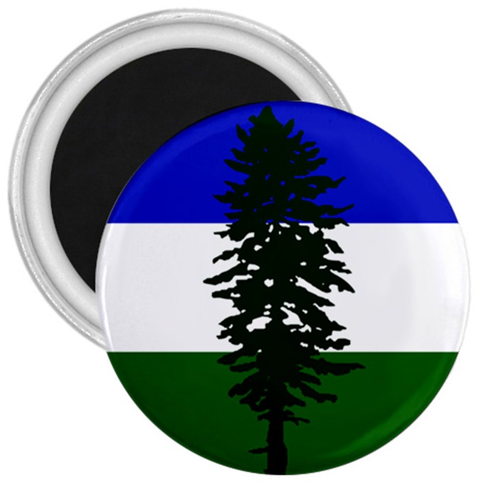 Flag of Cascadia 3  Magnets