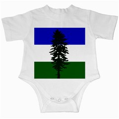 Flag Of Cascadia Infant Creepers