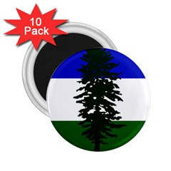Flag Of Cascadia 2 25  Magnets (10 Pack)