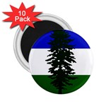 Flag of Cascadia 2.25  Magnets (10 pack)  Front