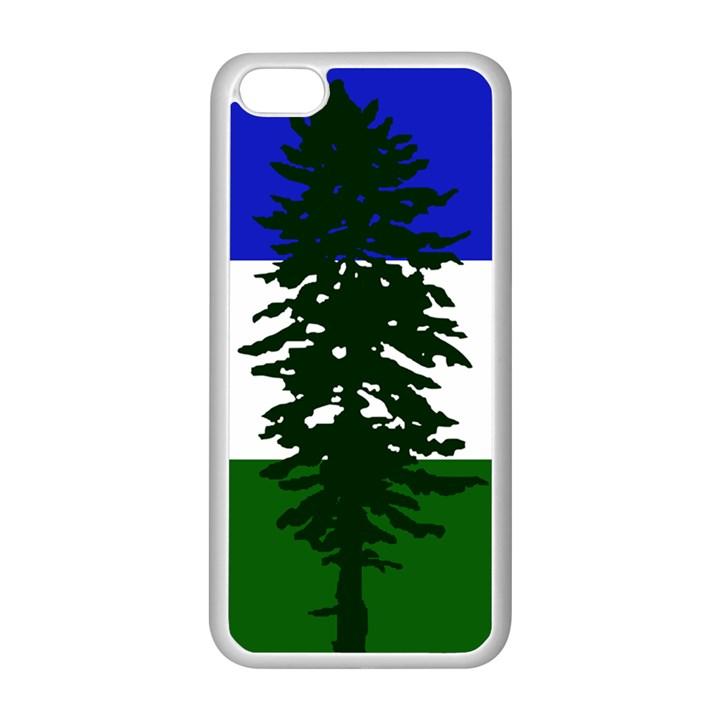 Flag of Cascadia Apple iPhone 5C Seamless Case (White)