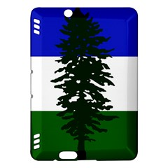 Flag Of Cascadia Kindle Fire Hdx Hardshell Case by abbeyz71