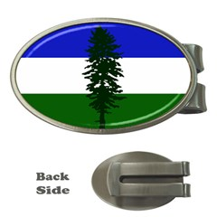 Flag Of Cascadia Money Clips (oval)  by abbeyz71