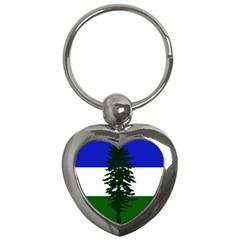 Flag Of Cascadia Key Chains (heart)  by abbeyz71