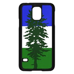 Flag Of Cascadia Samsung Galaxy S5 Case (black) by abbeyz71