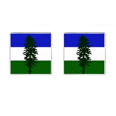 Flag Of Cascadia Cufflinks (square) by abbeyz71