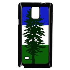 Flag Of Cascadia Samsung Galaxy Note 4 Case (black)