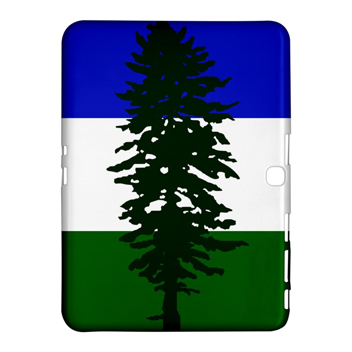 Flag of Cascadia Samsung Galaxy Tab 4 (10.1 ) Hardshell Case