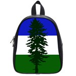 Flag of Cascadia School Bag (Small) Front