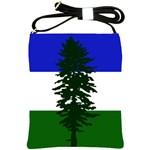 Flag of Cascadia Shoulder Sling Bags Front
