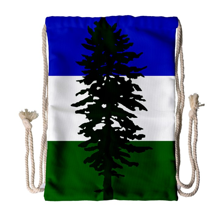 Flag of Cascadia Drawstring Bag (Large)