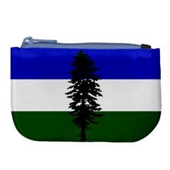 Flag Of Cascadia Large Coin Purse by abbeyz71