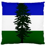 Flag of Cascadia Large Cushion Case (One Side) Front