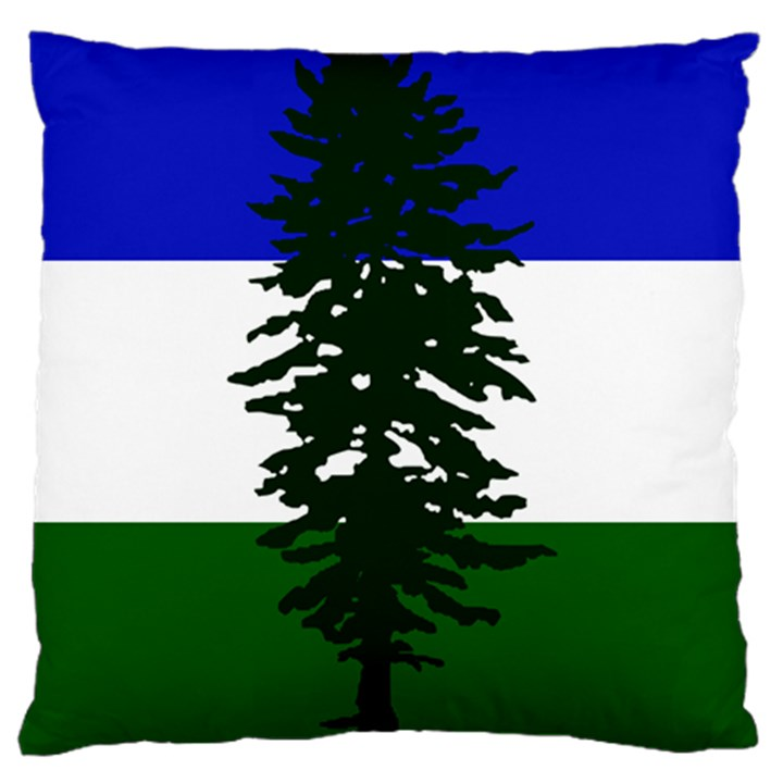 Flag of Cascadia Large Cushion Case (One Side)