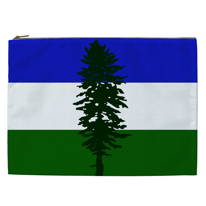 Flag of Cascadia Cosmetic Bag (XXL)