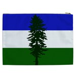 Flag of Cascadia Cosmetic Bag (XXL)  Back