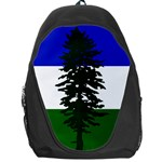 Flag of Cascadia Backpack Bag Front