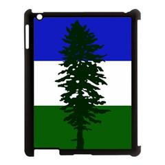 Flag Of Cascadia Apple Ipad 3/4 Case (black) by abbeyz71
