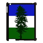 Flag of Cascadia Apple iPad 3/4 Case (Black) Front