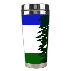 Flag Of Cascadia Stainless Steel Travel Tumblers by abbeyz71