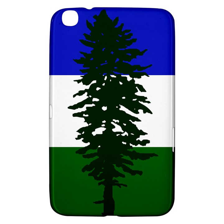 Flag of Cascadia Samsung Galaxy Tab 3 (8 ) T3100 Hardshell Case