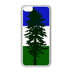Flag Of Cascadia Apple Iphone 5c Seamless Case (white) by abbeyz71