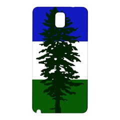 Flag Of Cascadia Samsung Galaxy Note 3 N9005 Hardshell Back Case by abbeyz71