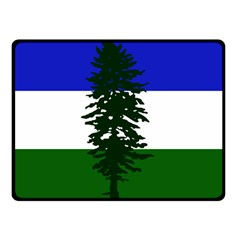 Flag Of Cascadia Double Sided Fleece Blanket (small)  by abbeyz71