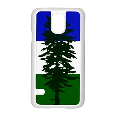 Flag Of Cascadia Samsung Galaxy S5 Case (white) by abbeyz71