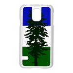 Flag of Cascadia Samsung Galaxy S5 Case (White) Front