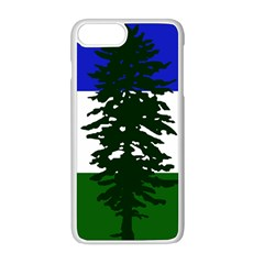 Flag Of Cascadia Apple Iphone 8 Plus Seamless Case (white) by abbeyz71