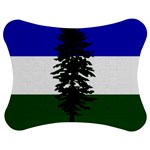 Flag of Cascadia Jigsaw Puzzle Photo Stand (Bow) Front