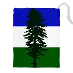 Flag of Cascadia Drawstring Pouches (XXL) Front