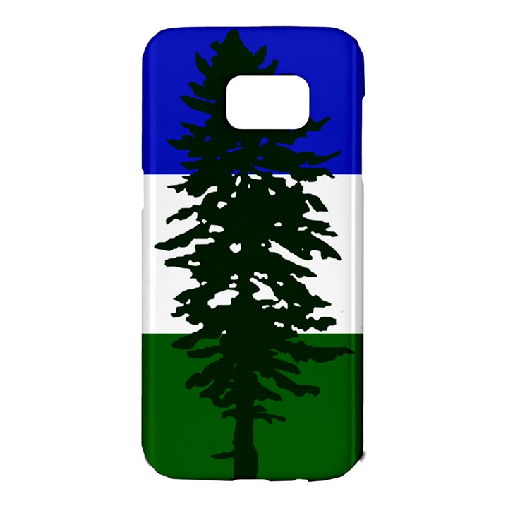 Flag of Cascadia Samsung Galaxy S7 Edge Hardshell Case