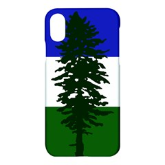 Flag Of Cascadia Apple Iphone X Hardshell Case by abbeyz71