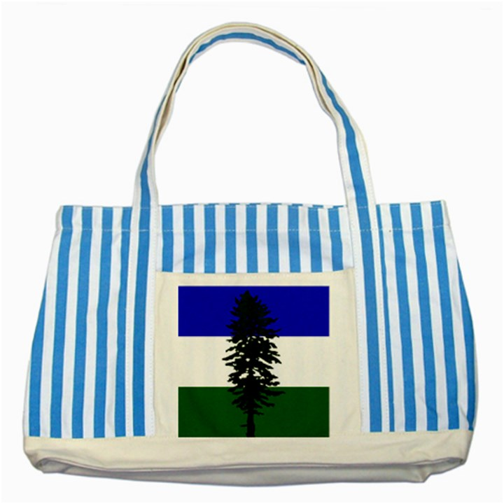 Flag of Cascadia Striped Blue Tote Bag