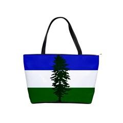 Flag Of Cascadia Shoulder Handbags by abbeyz71