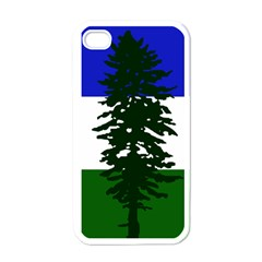 Flag Of Cascadia Apple Iphone 4 Case (white) by abbeyz71