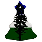 Flag of Cascadia Christmas Tree Ornament (Two Sides) Front