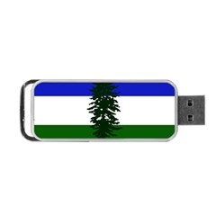 Flag Of Cascadia Portable Usb Flash (two Sides) by abbeyz71
