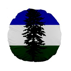 Flag Of Cascadia Standard 15  Premium Round Cushions by abbeyz71